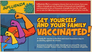 New Location for Free Flu Shots in Union County, Sept. 23