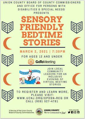 Union County Celebrates Read Across America With A Sensory Friendly Bedtime Story