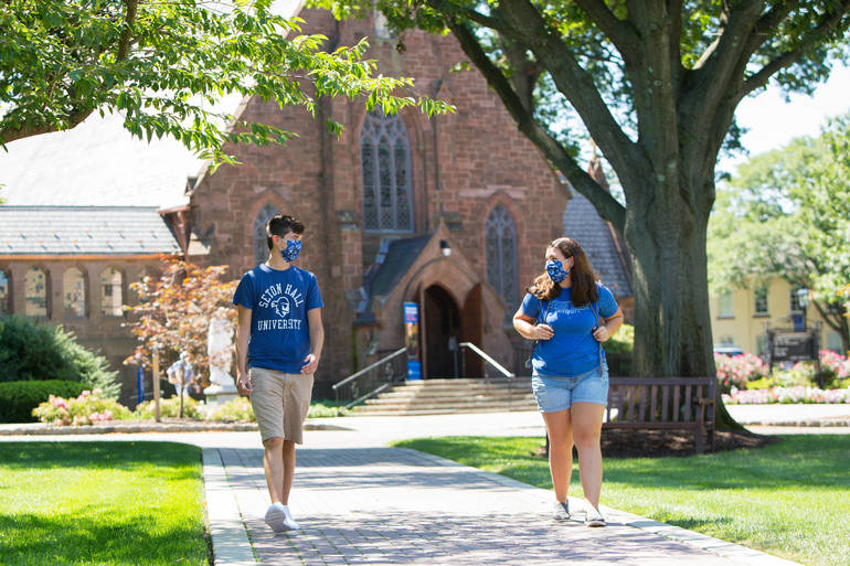 Seton Hall Requiring Vaccines for Fall Semester