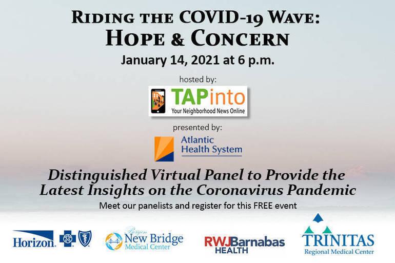 COVID-19 free virtual event January 14, 2021