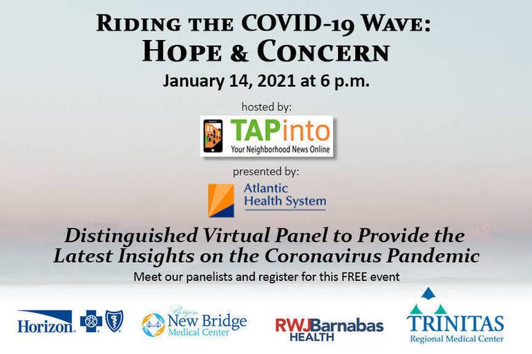 COVID-19 free virtual event January 14, 2021
