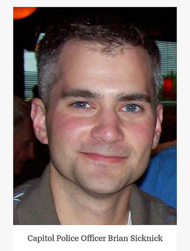 U.S. Capitol Police Officer Brian Sicknick of South River, NJ, died following injuries sustained while defending the U.S. Capitol.