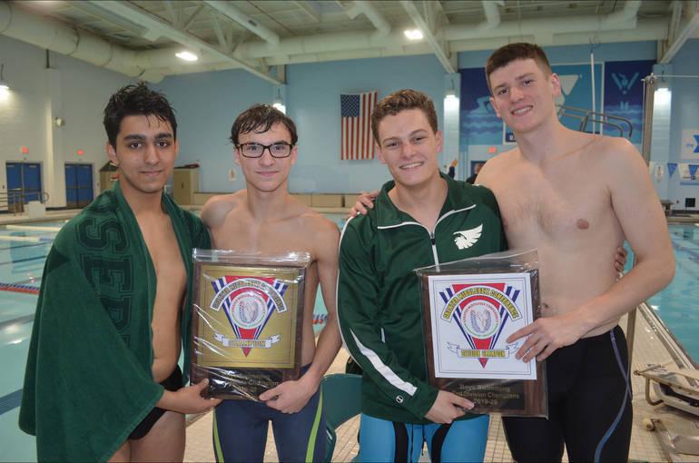 Saint Joseph High School Senior Swimmers 2020