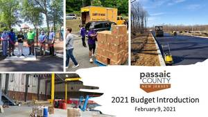 Passaic County Board of County Commissioners Introduce 2021 Budget