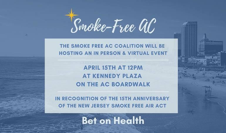 Smoke Free Atlantic City event
