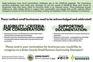 Hillside is Invited to Honor Small Business Champions