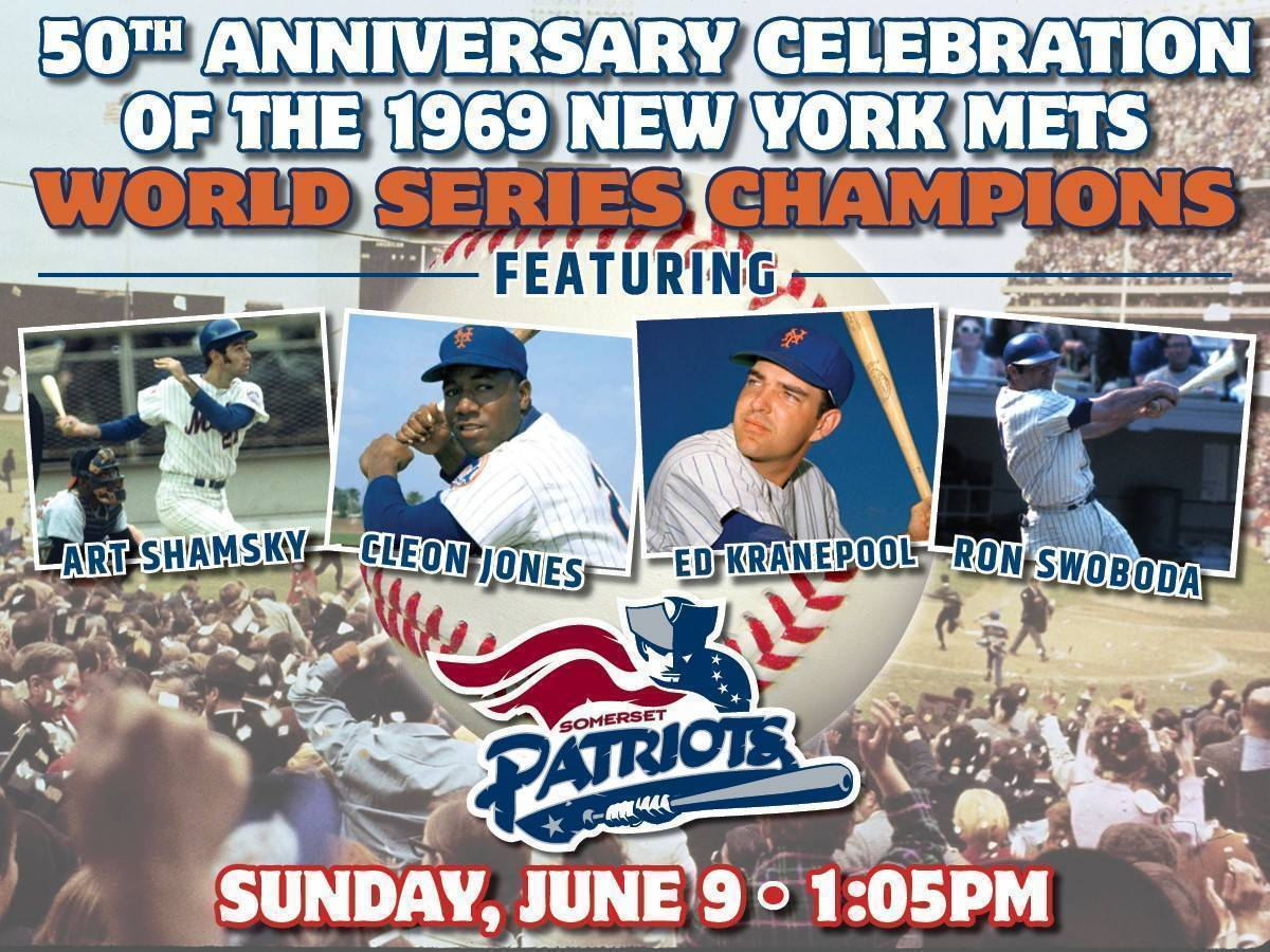 '69 Mets Celebrate World Series Anniversary With Patriots