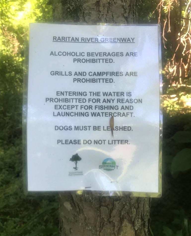 Somerville Locks Down Raritan River Access to Deter Visitors' Abuse
