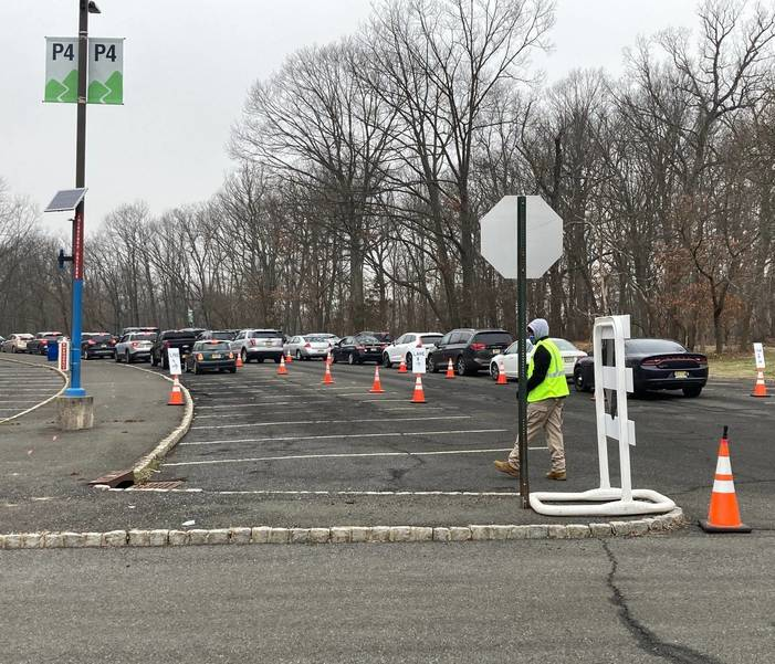 Somerset County Cops, First Responders Line Up for COVID-19 Vaccination Shots