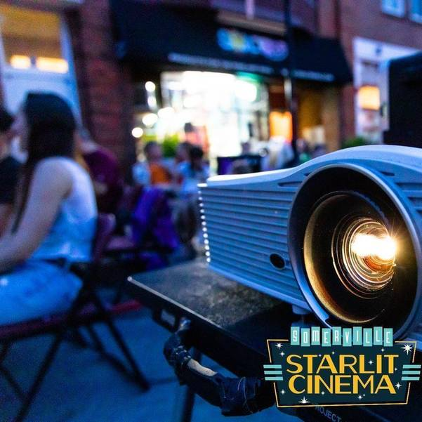 Somerville Starlit Cinema Returns to Division Street Thursday Nights