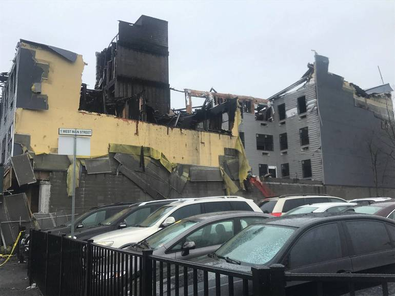 Suspect Indicted for Setting Fire that Destroyed Apartment Buildings