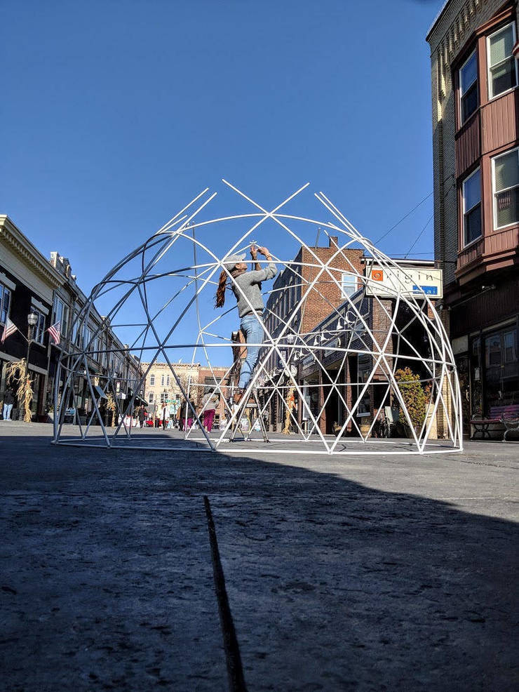Igloos Frozen Out of Downtown Somerville Holiday Season by COVID-19