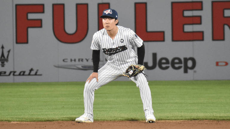 Former Somerset Patriot Hoy Park Called Up To NY Yankees