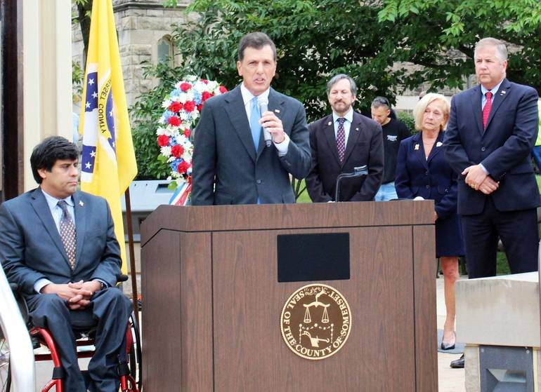 Freeholders Honor Those Who Perished on 9/11