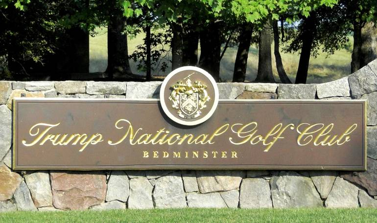 Man charged with doing 'doughnuts' at Donald Trump's golf course