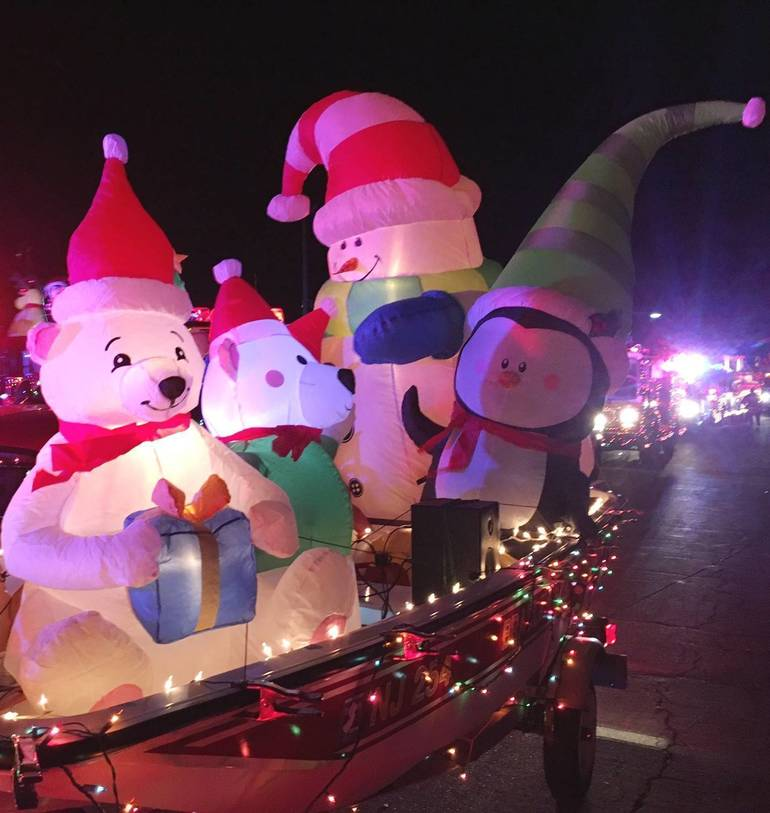 Firefighters Host Annual Holiday Lights Parade Dec. 5, Extend Invite to All NJ Departments