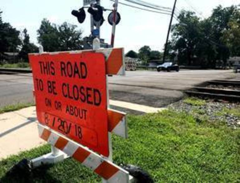 Manville: North 13th Avenue Railroad Crossing Closes Aug. 20 for Repairs