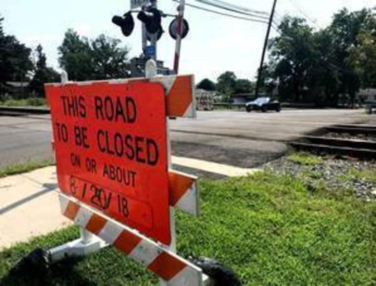 Manville: North 13th Avenue Railroad Crossing Closes Aug. 20 for Repairs