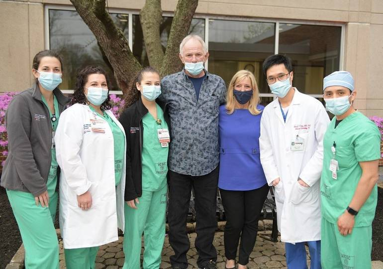 Heart Attack Survivor Thanks Physicians, First Responders for Saving His Life