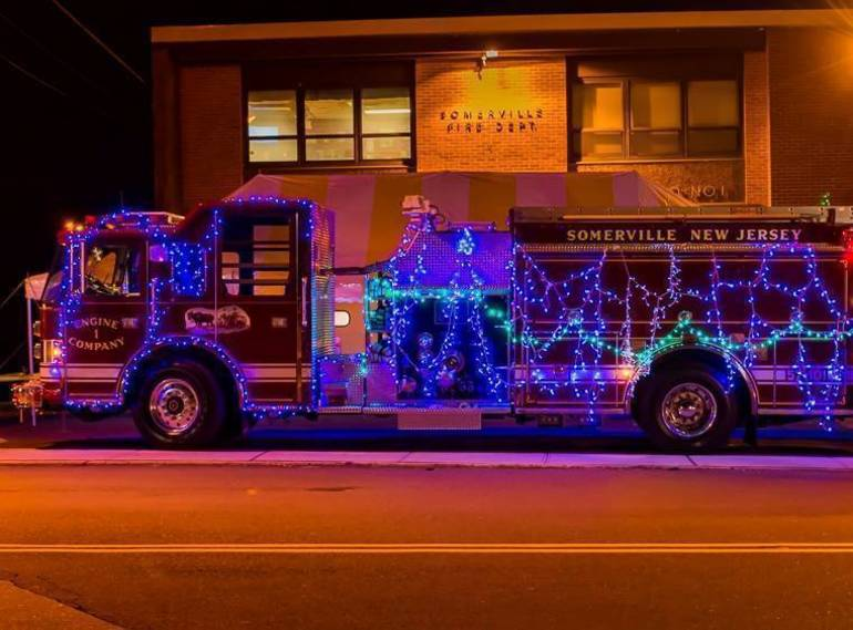Firefighters Host Annual Somerville Holiday Lights Parade Dec. 5