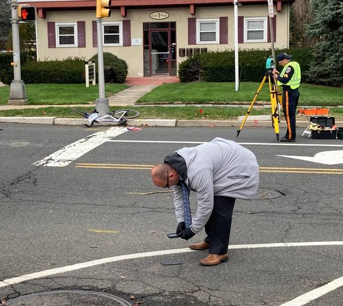 Bicyclist Struck by SUV Outside Somerset County Prosecutor's Office