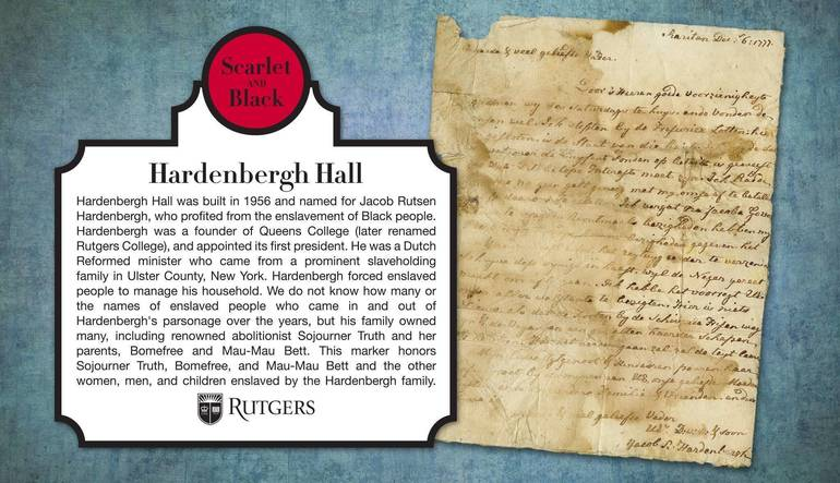 Rutgers Confronts Ties to Racist Past and the Mixed History of the Hardenbergh Family