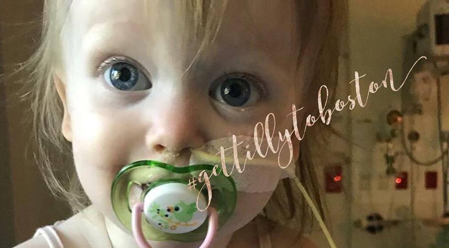 Australian Toddler Needs Helping Hand on Journey to Boston Hospital
