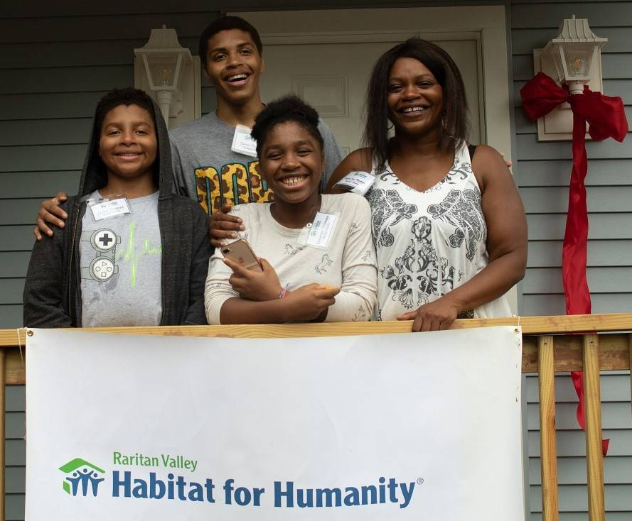 Franklin Township: Volunteers Celebrate New Raritan Valley Habitat for Humanity Home