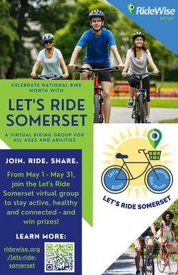 RideWise Offers Creative Ways to Participate in National Bike Month