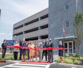 Overlook Medical Center Improves Parking with Opening of New South Garage