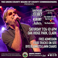 Southside Johnny and the Asbury Jukes to Perform in Clark