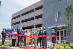 Overlook Cuts Ribbon on New South Garage; Structure Improves Parking Throughout Hospital Campus