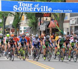 Tour of Somerville Anchors Labor Day Weekend of Cycling Events