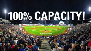 Open the Gates: Patriots Ballpark at Full Capacity Effective May 28