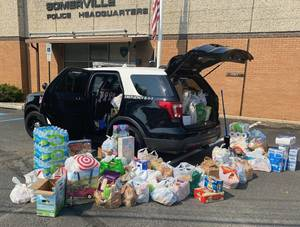 Residents Answer the Call: Somerville Police Collect Flood Donations