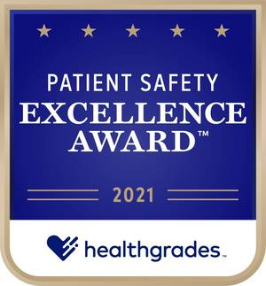 RWJUH/Somerset Rated in Top 5 Percent of US Hospitals for Patient Safety