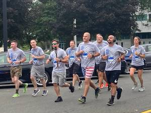 Warren's Claxton Joins NJ Law Enforcement Torch Run for Special Olympics of NJ