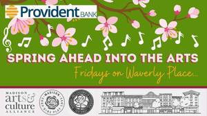 Spring into the Arts with Free Music by ARTS by the People on Waverly Place in Madison