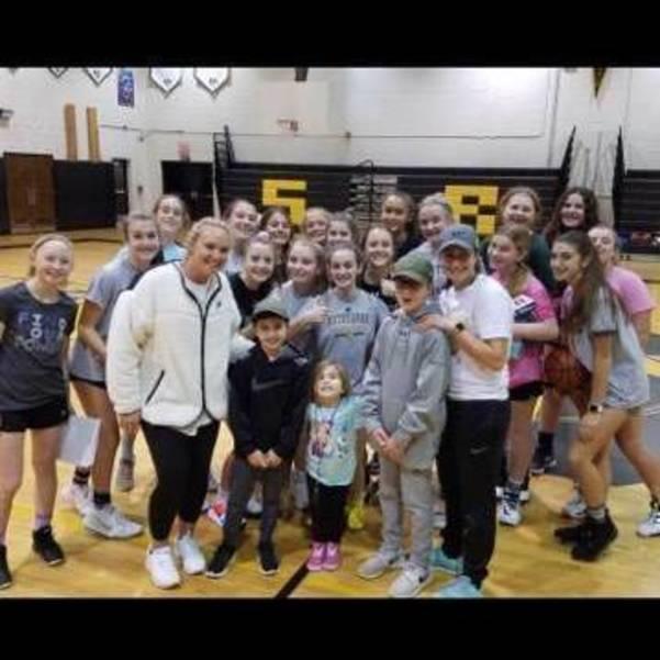 SRMS Girls Basketball Team 2019-2020