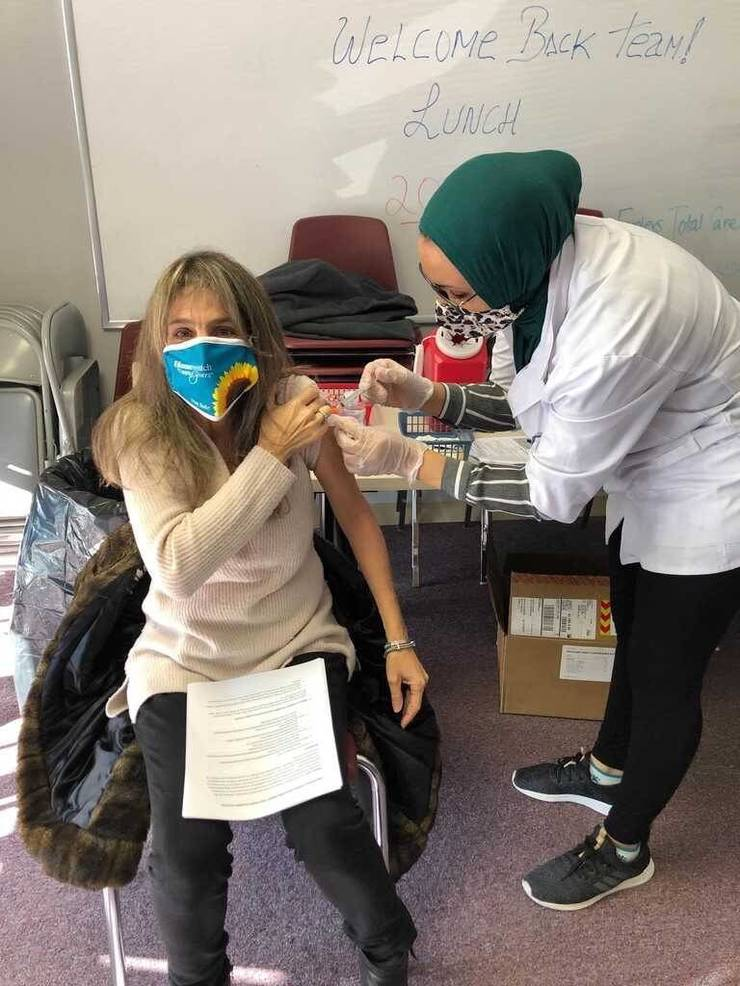 Homewatch CareGivers Team Begins Receiving COVID-19 Vaccinations