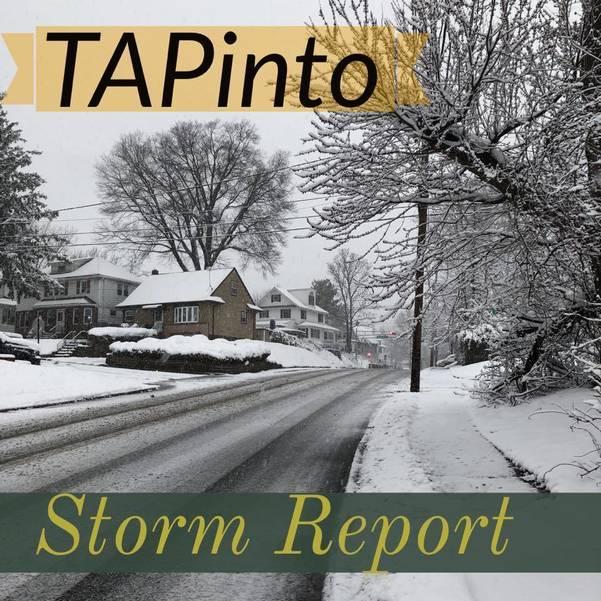 Post Thanksgiving Winter Storm Intensifies in Somerset Hills