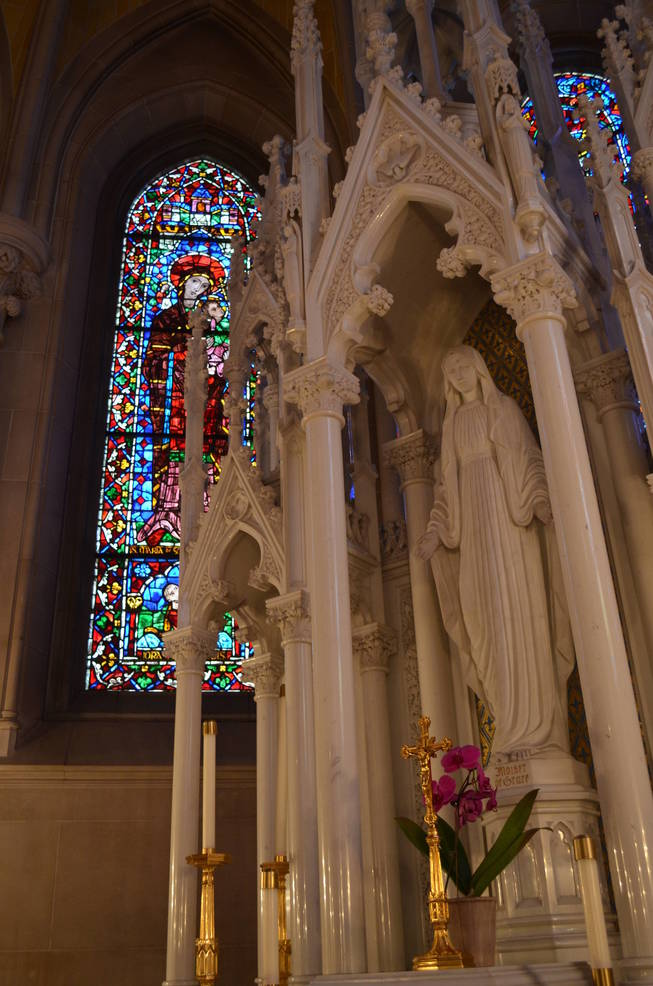 The Lady Chapel in the Cathedral Basilica of the Sacred Heart
