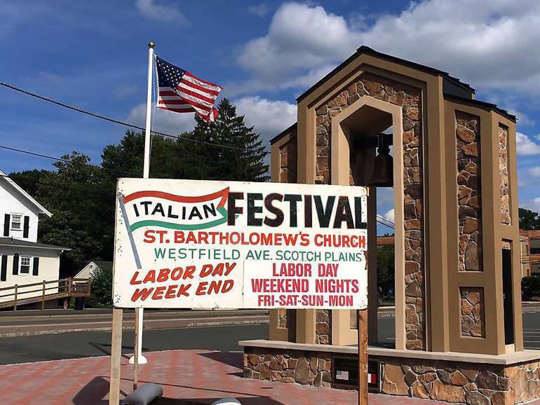 St. Bart's Festival sign.png