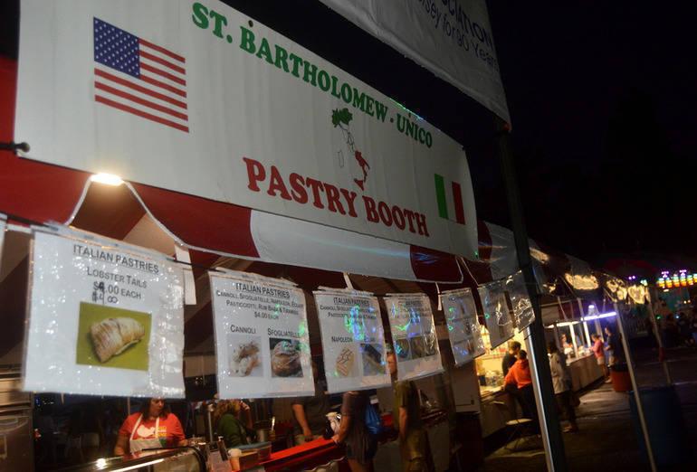 St. Bart's Festival dessert stand (2018).png