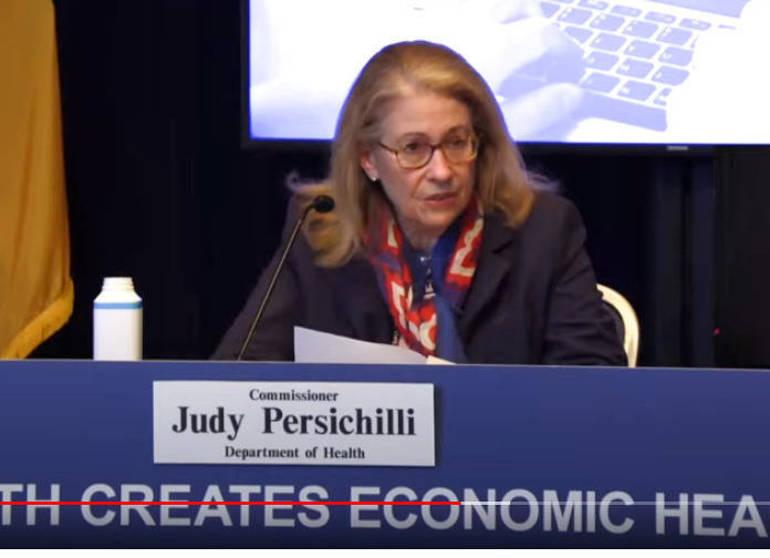 State Health Commissioner Judy Persichilli