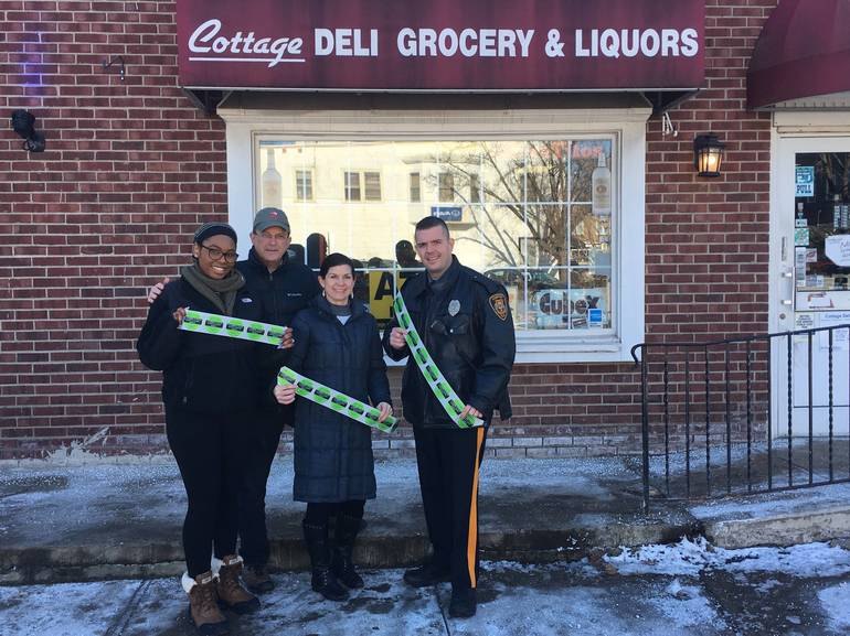Sticker Shock Campaign in Chatham:Helping to Stop the Sale of Alcohol to Minors