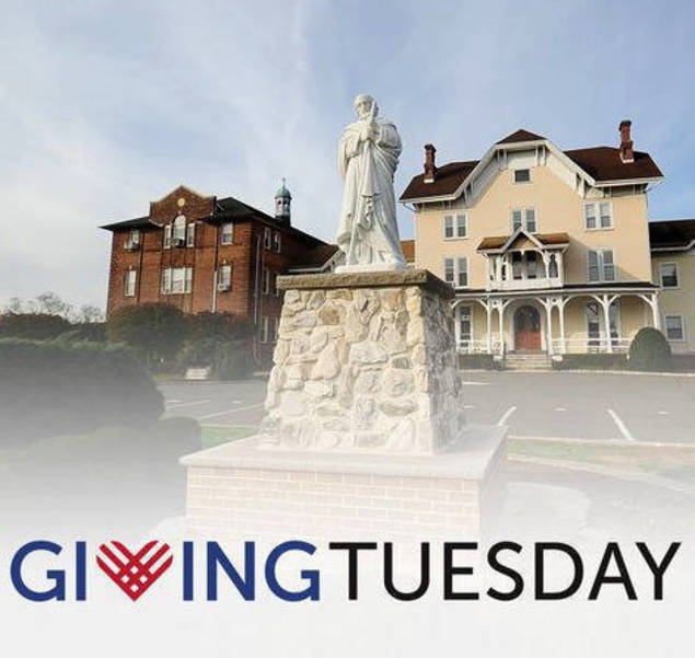 Remember Saint Joe's on Giving Tuesday (Tues, Dec. 1)