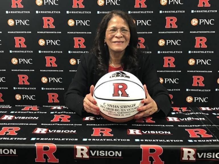 Legendary Women's Basketball Coach C. Vivian Stringer, Rutgers Agree to Contract Extension Through 2026