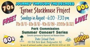 Tyler Stackhouse, Park, Commission, concert, Somerset County