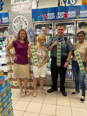 Madison Chatham Coalition, Municipal Alliance Committee of the Chathams, Local Liquor Retailers, Police Departments and Governments  Host Successful Sticker Shock Campaign